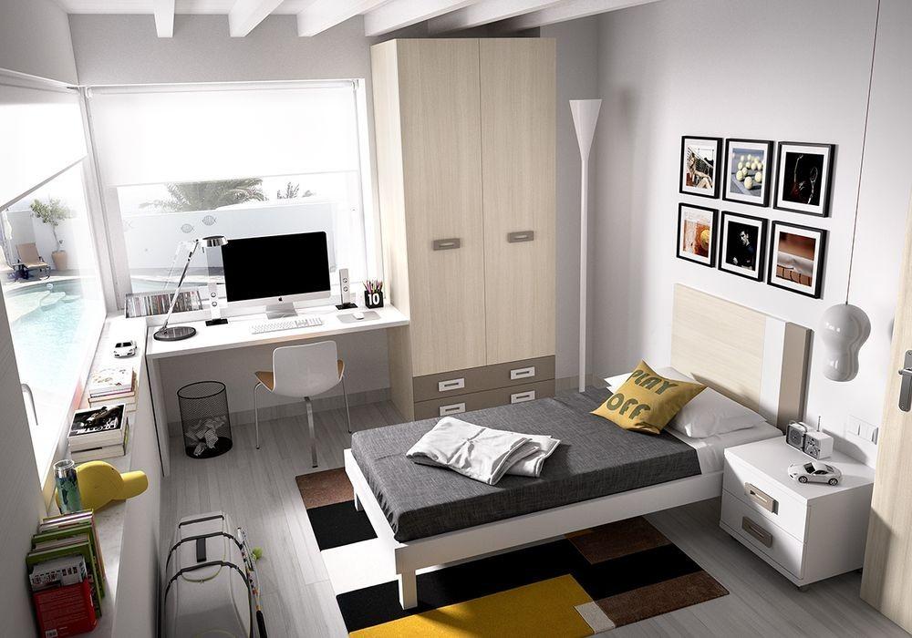 Dormitorio juvenil for Muebles para dormitorios juveniles modernos