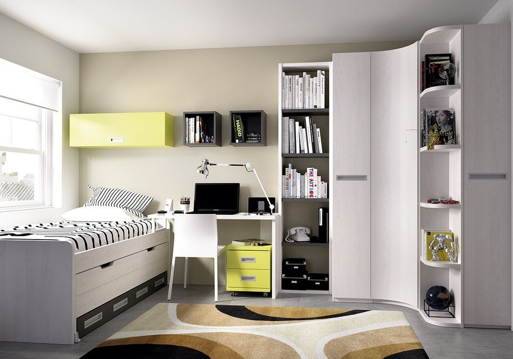 Dormitorio juvenil for Dormitorio juvenil compacto