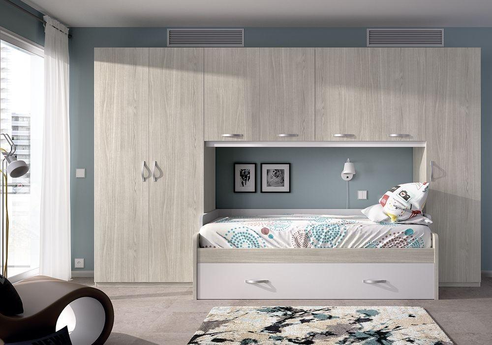 Dormitorio juvenil for Habitacion juvenil cama nido